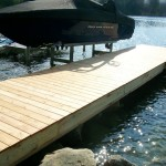Residential, Custom-Built Dock