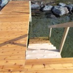 Residential Dock with Stairs
